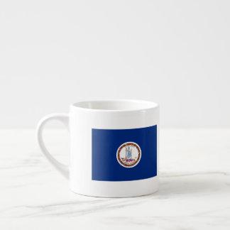 Virginia Flag Espresso Cup