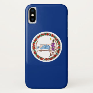 Virginia Flag iPhone X Case