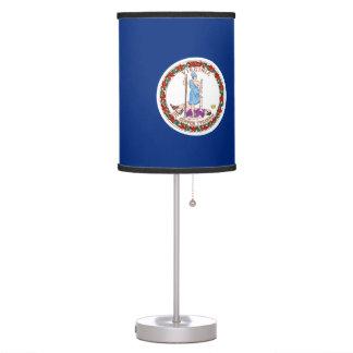 Virginia Flag Table Lamp