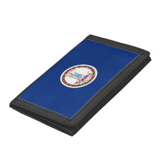 Virginia Flag Tri-fold Wallet