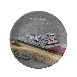 Virginia Ingram decorative plate