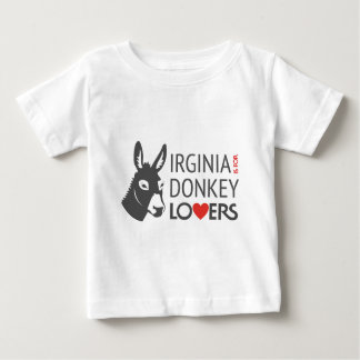 Virginia is for Donkey Lovers Baby T-Shirt