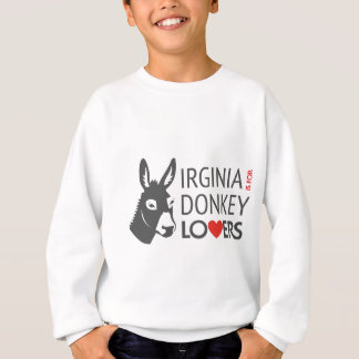 Virginia is for Donkey Lovers Sweatshirt