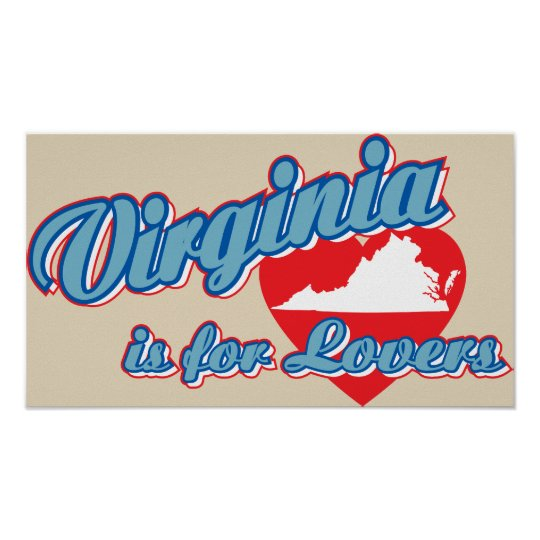 Virginia Is For Lovers Poster