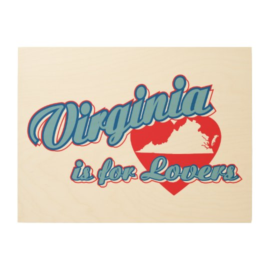 Virginia Is For Lovers Wood Wall Decor