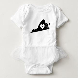 Virginia Love Baby Bodysuit