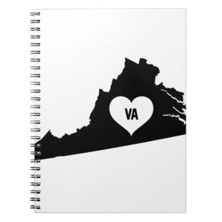 Virginia Love Notebook