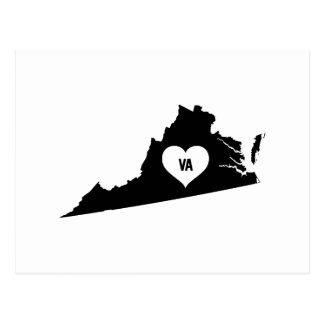 Virginia Love Postcard