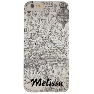 Virginia Map, 1612 Barely There iPhone 6 Plus Case