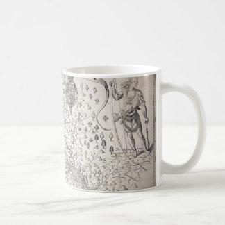 Virginia Map, 1612 Basic White Mug