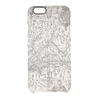 Virginia Map, 1612 Clear iPhone 6/6S Case