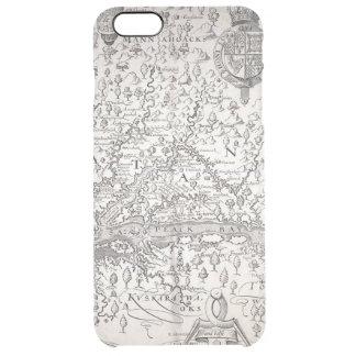 Virginia Map, 1612 Clear iPhone 6 Plus Case