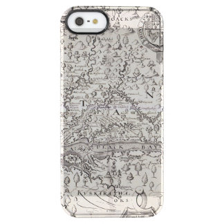 Virginia Map, 1612 Clear iPhone SE/5/5s Case