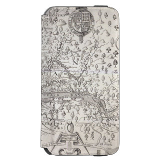 Virginia Map, 1612 Incipio Watson™ iPhone 6 Wallet Case