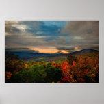 Virginia Mountain Sunset Print