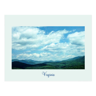 Virginia Mountain View Post Card
