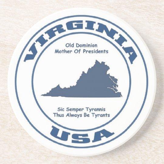 Virginia State Coaster