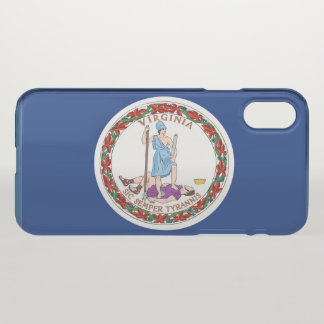 Virginia State flag iPhone X Case