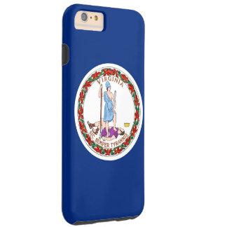 Virginia State Flag Tough iPhone 6 Plus Case
