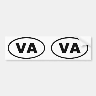 Virginia VA oval Bumper Sticker