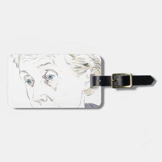Virginia Woolf Bag Tag