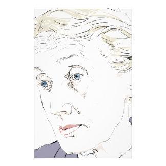 Virginia Woolf Customized Stationery