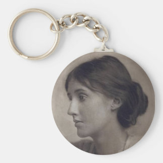 Virginia Woolf keychain
