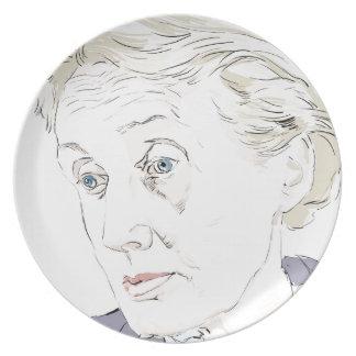 Virginia Woolf Plate