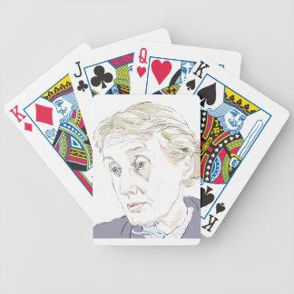 Virginia Woolf Poker Deck