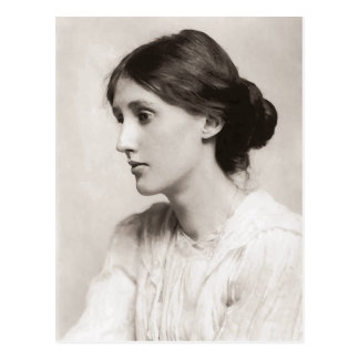 Virginia Woolf portrait 1902 Postcard