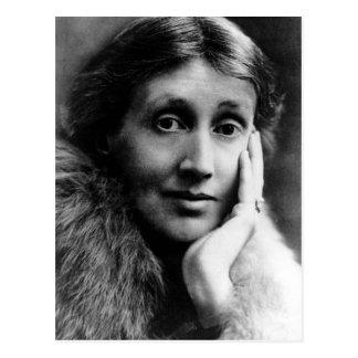 Virginia Woolf Portrait Postcard