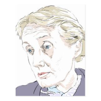 Virginia Woolf Postcard