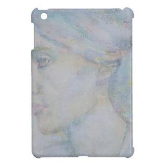 virginia woolf - watercolor portrait.1 iPad mini cover