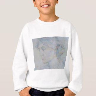 virginia woolf - watercolor portrait.1 sweatshirt