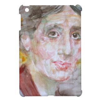 virginia woolf - watercolor portrait.2 case for the iPad mini