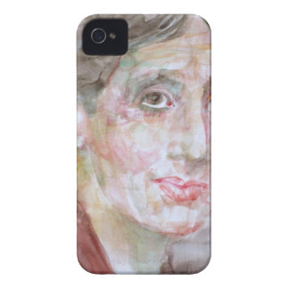 virginia woolf - watercolor portrait.2 iPhone 4 Case-Mate case