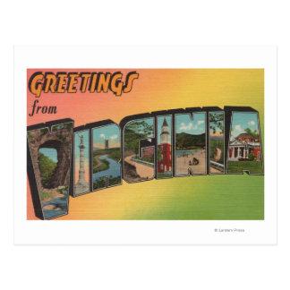 VirginiaLarge Letter ScenesVirginia Postcard