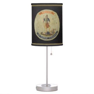 Virginian Motto Lamp