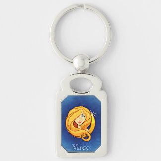 Virgo Astrological Zodiac Sign Keychain