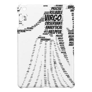 Virgo Astrology Zodiac Sign Word Cloud iPad Mini Covers