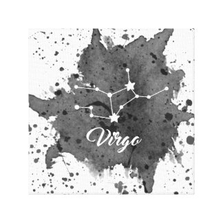Virgo Black Wall Art