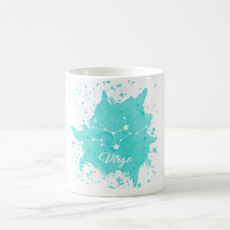 Virgo Blue Mug