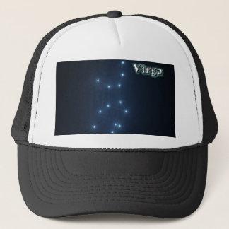Virgo constellation trucker hat
