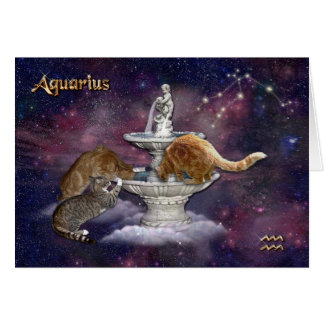 Virgo for Cat Lovers Card