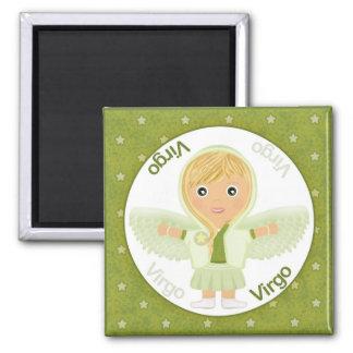 Virgo Girl Character Magnet