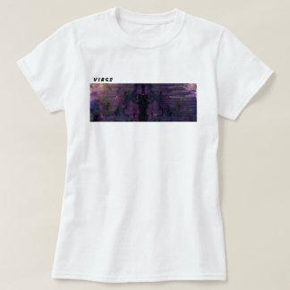 Virgo Glitch Art T-Shirt