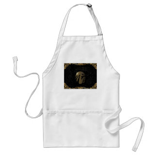 Virgo golden sign standard apron