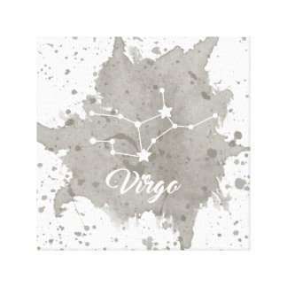 Virgo Gray Wall Art