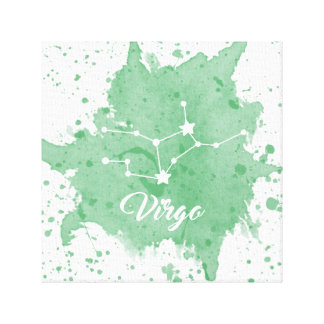 Virgo Green Wall Art