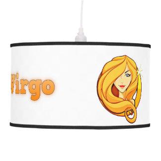 Virgo illustration pendant lamp